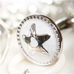 Newbridge Silverware Baby Rattle with Star