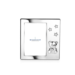 Baby Frame with Bear and Stars