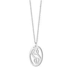 Newbridge Silverware Ceol Oval Pendant