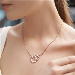 Mementos Rose Gold Plated Double Pendant by Newbridge Silverware
