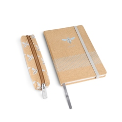 Newbridge Silverware Cork Notebook with Pencil Case