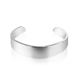 Newbridge Silverware Cosmic Plain Bangle