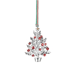Holly Tree Hanging Decoration by Newbridge Silverware