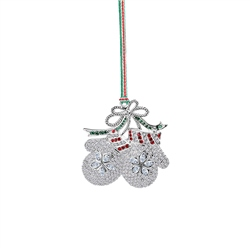 Mittens Hanging Decoration by Newbridge Silverware