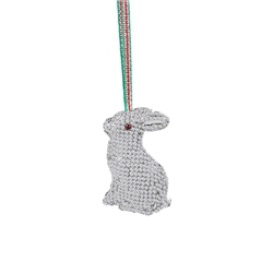 Rabbit Hanging Decoration by Newbridge Silverware