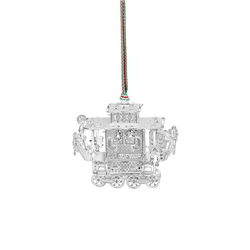 Train Carriage Hanging Decoration by Newbridge Silverware