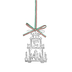 Vintage Christmas Hanging Decoration by Newbridge Silverware