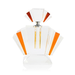 Amber Fan Scent Bottle Large by Newbridge Silverware