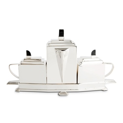 Newbridge Silverware Art Deco Style Tea Set