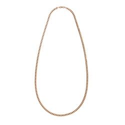Newbridge Silverware 1980's Givenchy Gold Tone Curb Chain Necklace