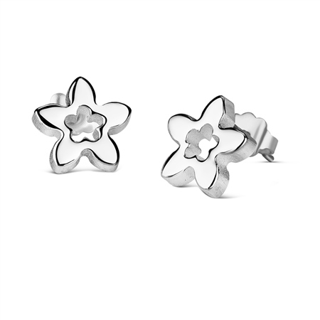 Floral Earrings  - Click to view a larger image