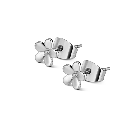 Childrens Flower Stud Earrings  - Click to view a larger image