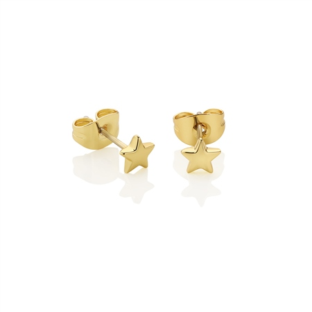 Star Stud Earrings  - Click to view a larger image