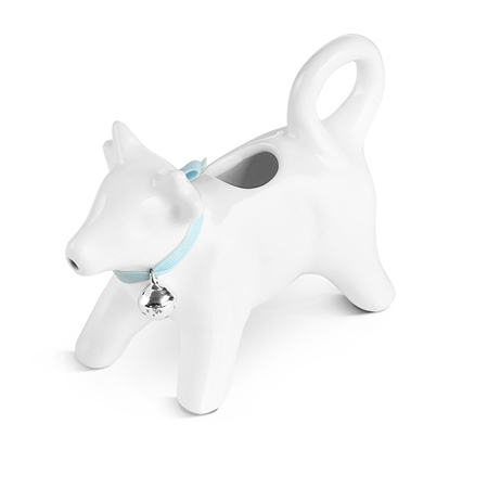 Whiteware Cow Milk Jug 140ml  - Click to view a larger image