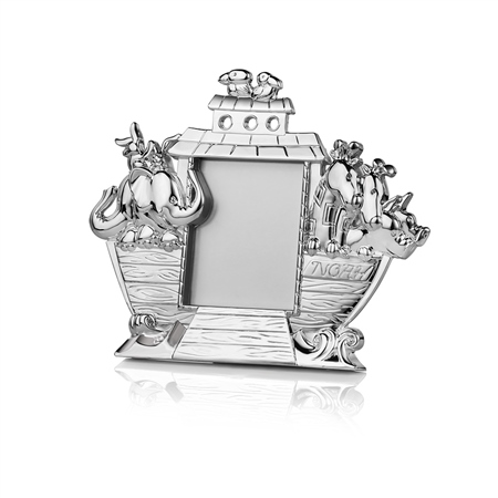 Silverplate Noahs Ark Frame  - Click to view a larger image