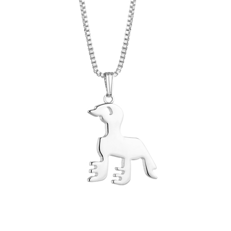 Bird Silverplate Pendant  - Click to view a larger image