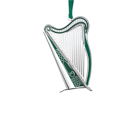 Irish Harp Ballpoint Pen Silver Plated Celtic Brand New Boxed Various Colours