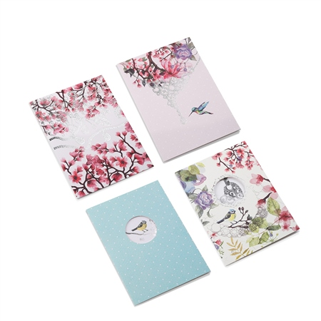 Set of 12 Notecards in Box  - Click to view a larger image