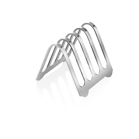 Silver Plated Toast Rack  - Click to view a larger image