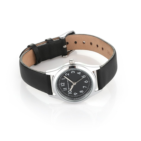 Childs Watch Black Strap  - Click to view a larger image