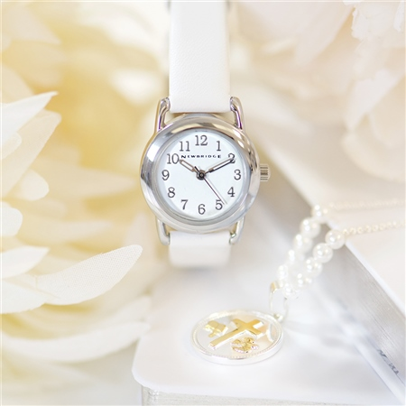 Childs Watch White Strap  - Click to view a larger image