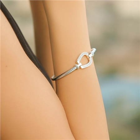 Horseshoe Bangle  - Click to view a larger image