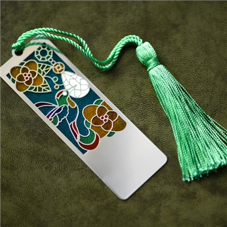 Coloured Bookmark  - Click to view a larger image