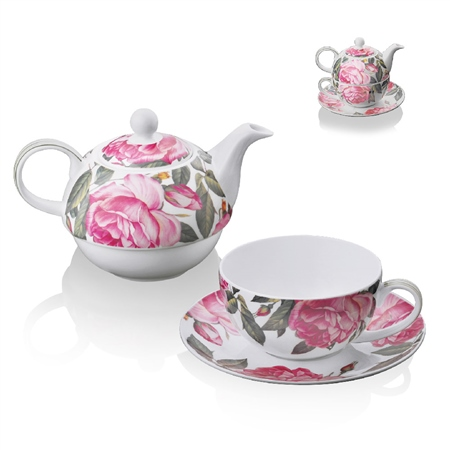 Rose Tea for One  - Click to view a larger image