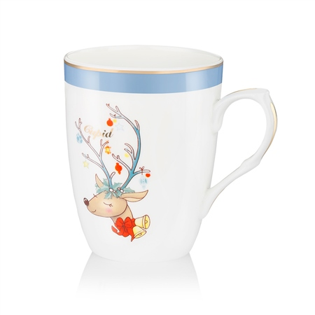 Cupid Christmas Mug  - Click to view a larger image