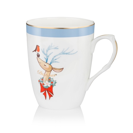 Donner Christmas Mug  - Click to view a larger image