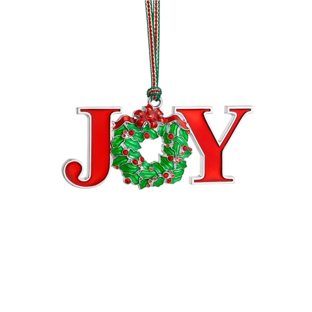 JOY Christmas Decoration  - Click to view a larger image