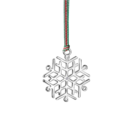 Snowflake Hanging Decoration  - Click to view a larger image
