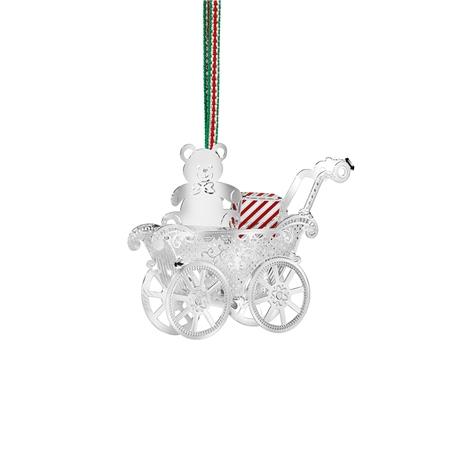 Teddy Bear in Baby Carriage - Newbridge Silverware Teddy Bear In Baby Carriage Newbridge Silverware