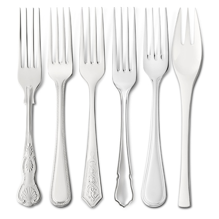 EPNS Dessert Forks Cutlery Ranges - Click to view a larger image