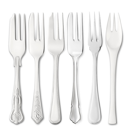 EPNS Pastry Forks Cutlery Ranges - Click to view a larger image