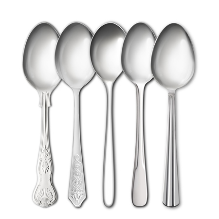 Stainless Steel Tea Spoons Cutlery Ranges - Click to view a larger image
