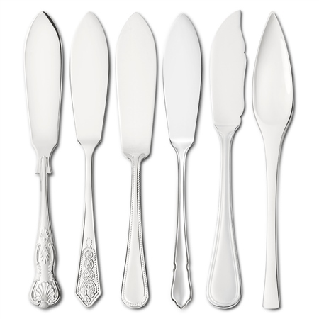 EPNS Fish Knives Cutlery Ranges - Click to view a larger image
