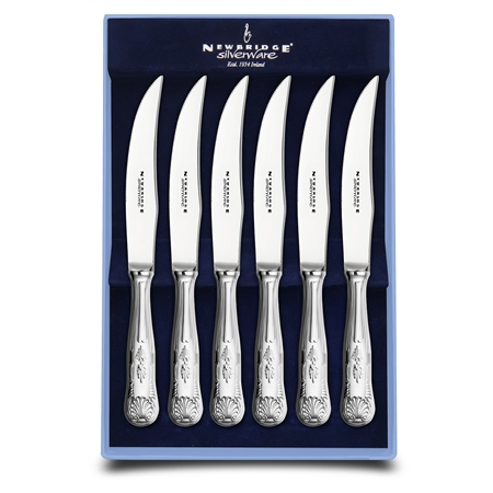 EPNS 6 Piece Steak Knife Set Kings