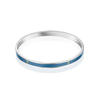 Guinness Narrow Bangle Blue  - Click to view a larger image