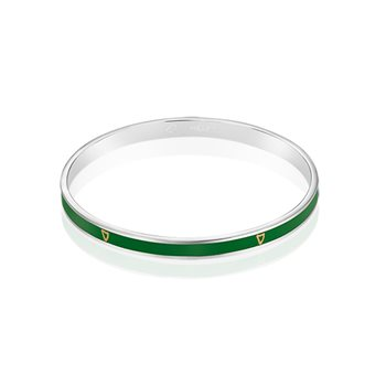 Guinness Narrow Bangle Green  - Click to view a larger image