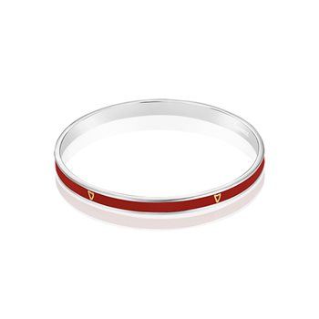 Guinness Narrow Bangle Red  - Click to view a larger image