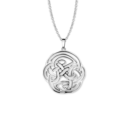 Celtic Pendant Round  - Click to view a larger image