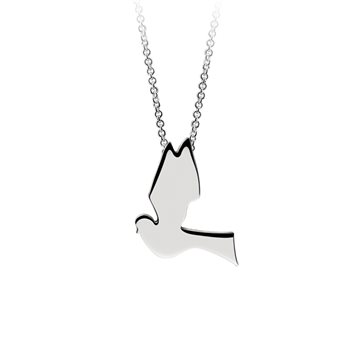 Confirmation Dove Pendant  - Click to view a larger image