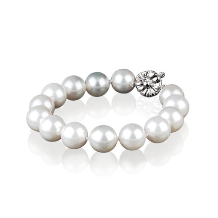 Pearl Bracelet 12mm  - Click to view a larger image