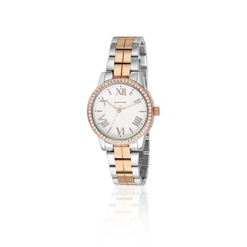 Rose Gold Silverplate Watch   - Click to view a larger image
