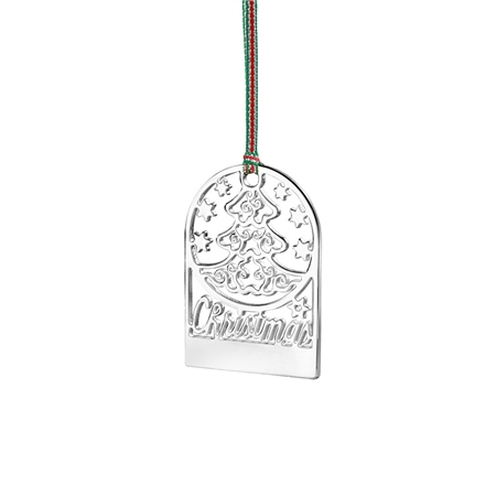 Engraveable Christmas Tree Decoration  - Click to view a larger image