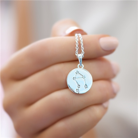 Zodiac pendant Libra  - Click to view a larger image