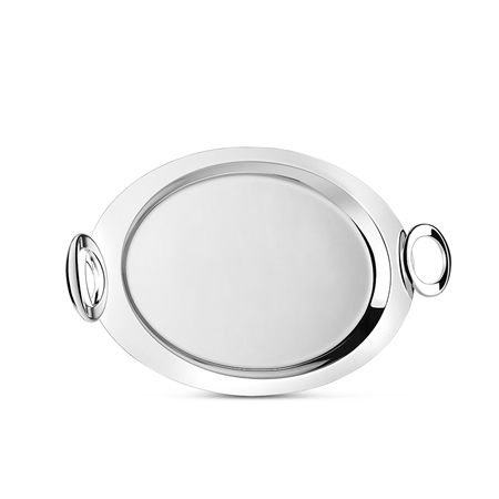Silver Plated Oval Tray  - Click to view a larger image