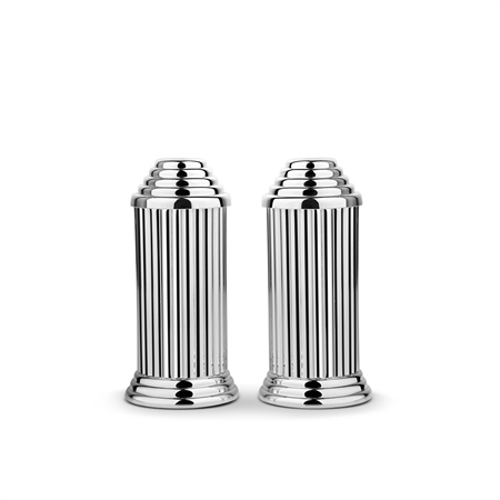 Silver Plated Salt & Pepper Set  - Click to view a larger image