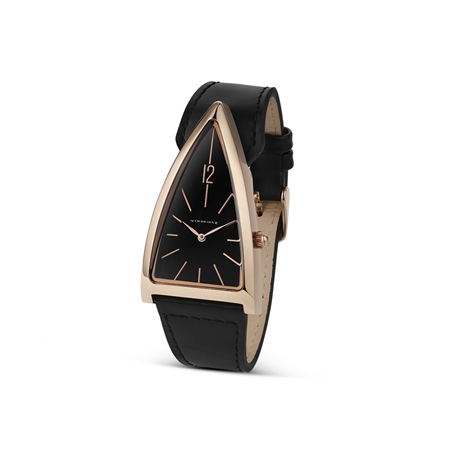 Unisex Black Triangular watch  - Click to view a larger image